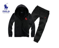 Tracksuit ralph lauren junior top noir red pony